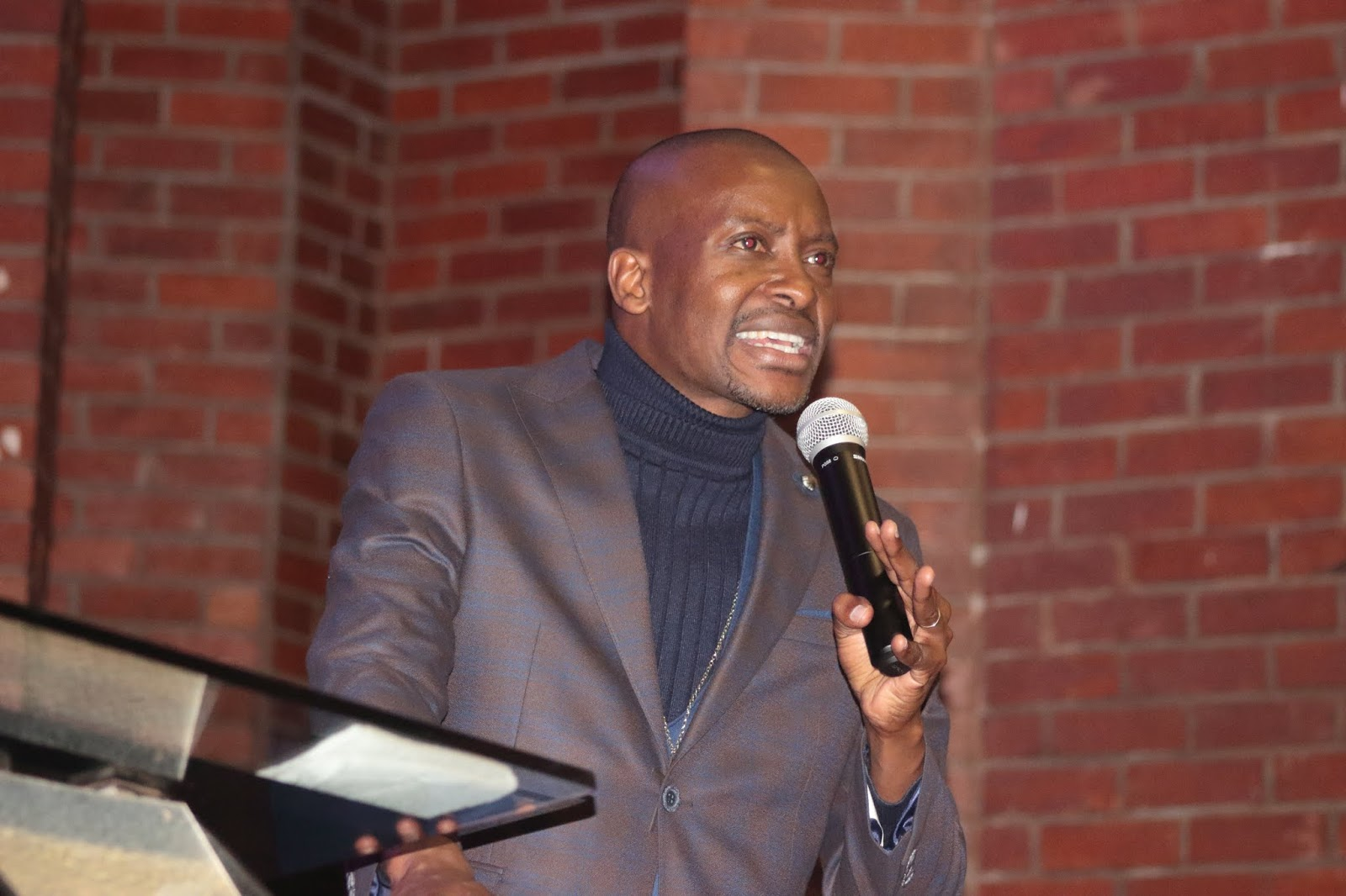 Glenview Victory Deliverance Night with Apostle P. Sibiya (Transcript)