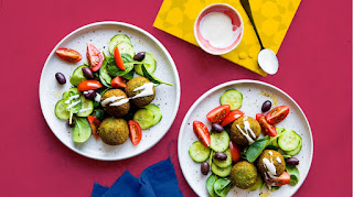 Healthy and light Mediterranean meals