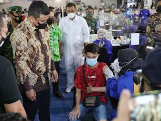 Wali Kota Medan Harap 10 Ribu Warga Dapat Divaksin Tiap Hari.