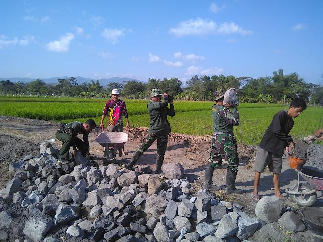 Kekuatan TMMD Reguler 105 Ada Ditangan TNI dan Rakyat