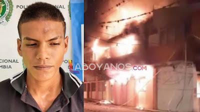 Capturan a presunto responsable de incinerar la alcaldía de La Plata, Huila