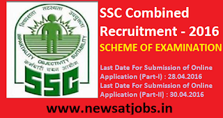 ssc+combind+recruitment+2016+scheme+of+examination