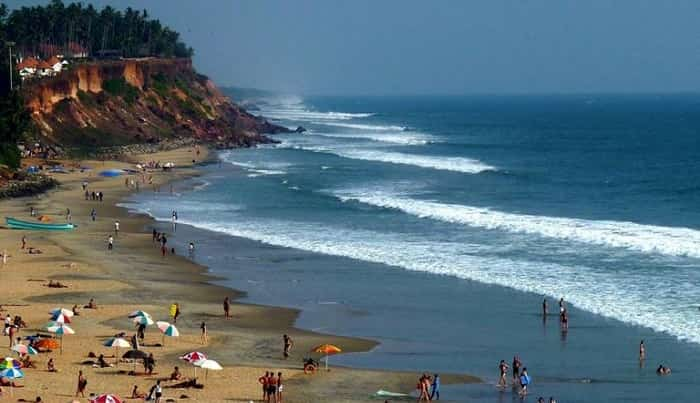 Varkala Beaches in Kerala