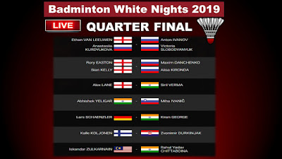 White Nights 2019 Quarter Final
