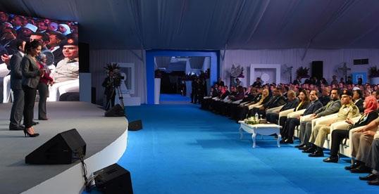 رئيس الجمهورية خلال مؤتمر الشباب - لا تعيين لحملة الماجستير والدكتوراة والموظفين الحاليين نحتاج منهم 20 % للعمل