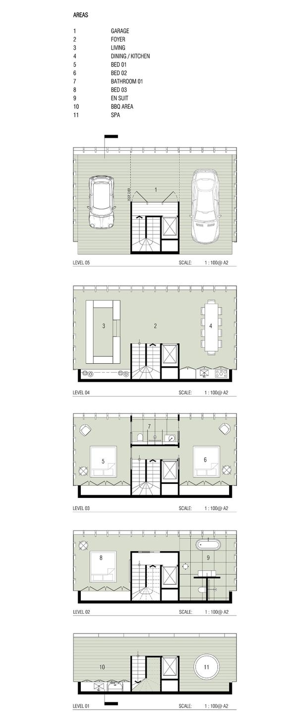 Floor plan of the concept home