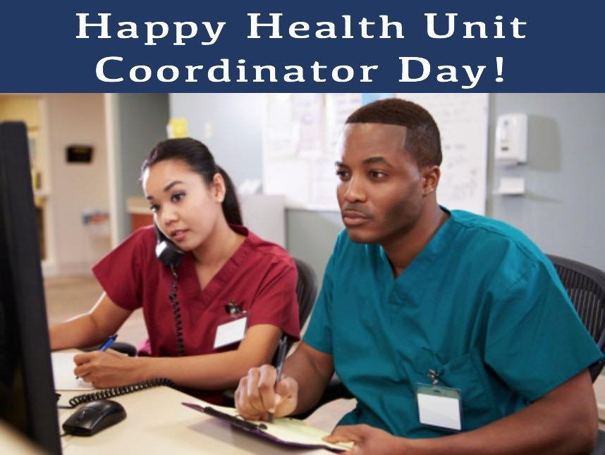 Health Unit Coordinators Day
