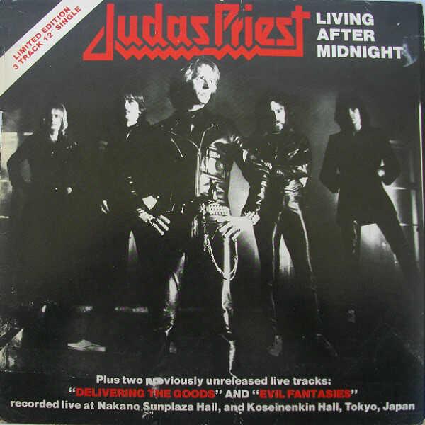 """Το single των Judas Priest """"Living After Midnight"""""""