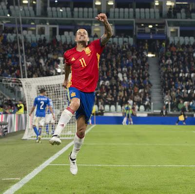 Spain Football Team vs Italy