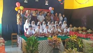 Pesan Komite Sekolah Dalam Pelepasan Siswa Siswi SD Wringinharjo 01 Gandrungmangu