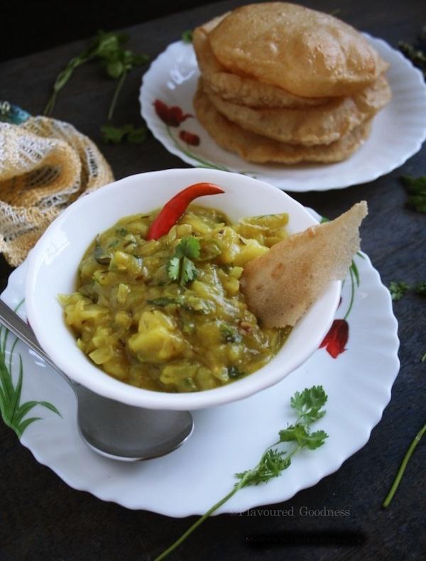 how to make Poori Masala Recipe | Aloo Bhajji