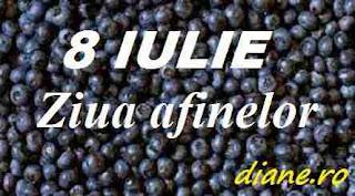 8 iulie: Ziua afinelor