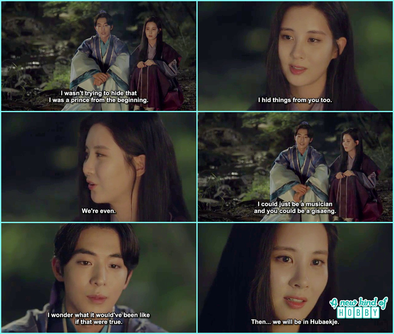Goodbye Kiss in Mountains Baek Ah & Woo Hee - Moon Lovers