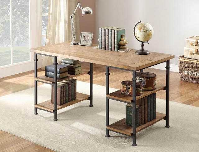 best buy rustic home office furniture for sale online