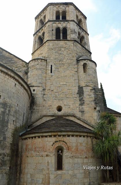 Torre del Monasterio de Sant Pere de Galligants, Girona