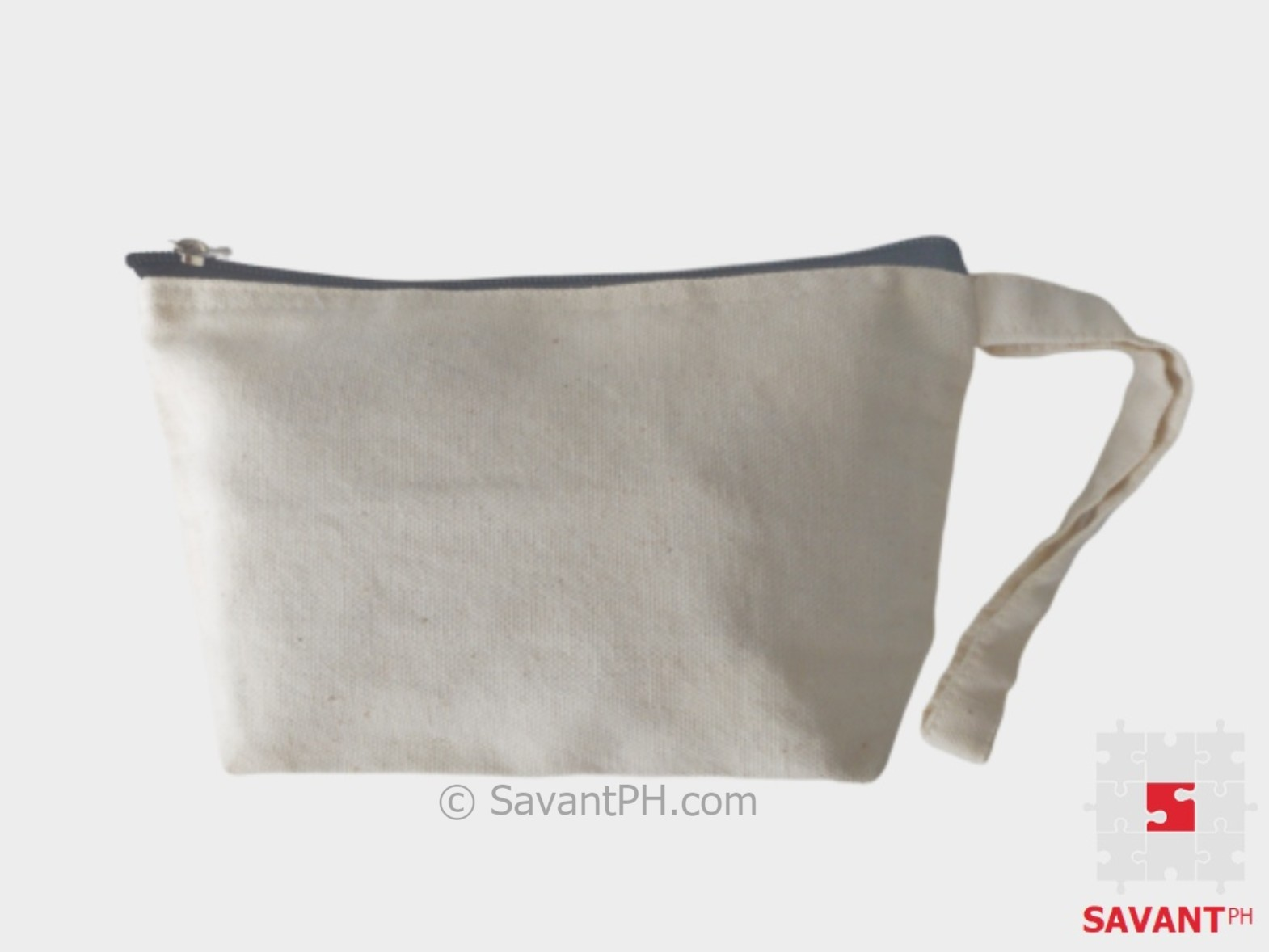 Plain Canvas Cosmetic Pouch Philippines