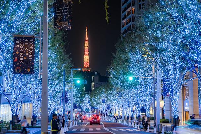 東京タワー,イルミネーション,夜景