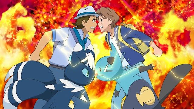 Capitulo 81 Pokémon Espada y Escudo - ¿Choque? ¡Pokemaniacos azules!
