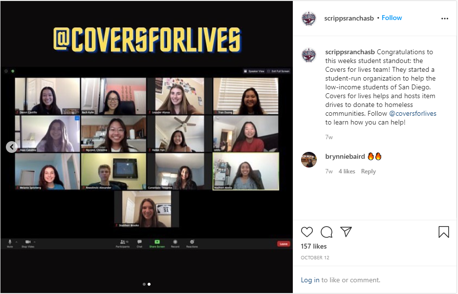 Covers for Lives SRASB Instagram