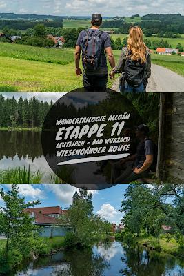 Wandertrilogie Allgäu  Etappe 11  Leutkirch-Bad Wurzach - Wiesengänger Route 20