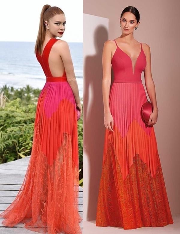 Vestido coral para madrinha de casamento: fotos, modelos e tendências 2021