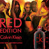 #Free Sample Cavlin Klein Red Edition The New Fragrance for Him and Her