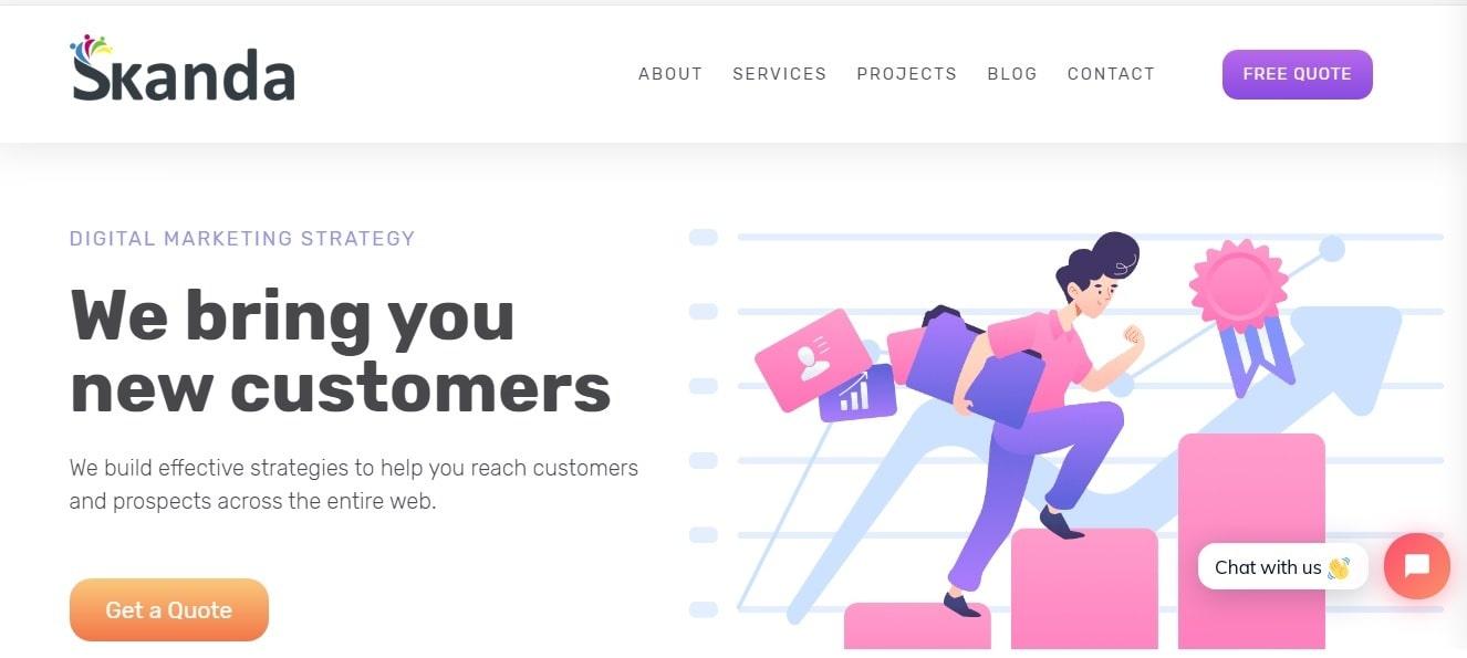 Skanda - Digital Marketing Company