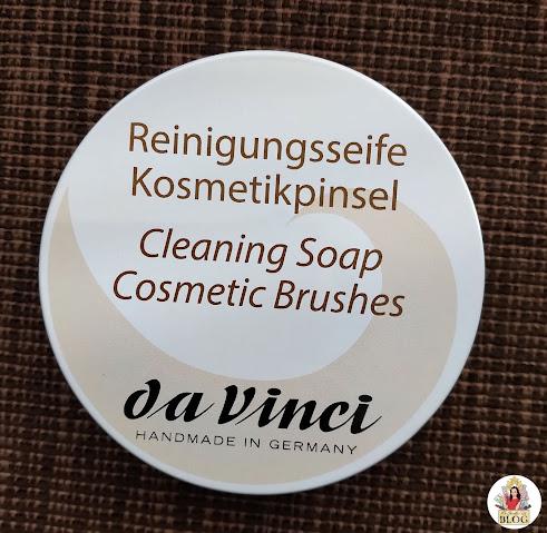 da Vinci mydlo na štetce obal