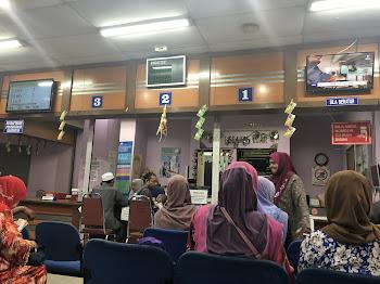 Temujanji di Klinik Kesihatan Kota Bharu