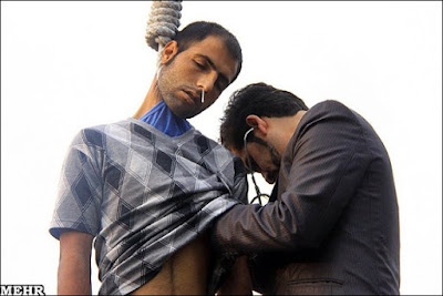 The naked truth: Public execution in Iran, October 2004