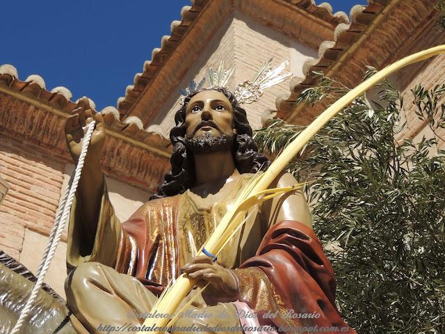 Cronica de la Semana Santa: Salida de la Borriquita y Virgen de la Soledad