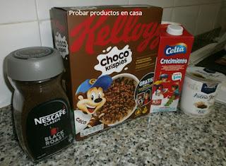 Disfrutabox: Kellogs, Nescafé, Celta