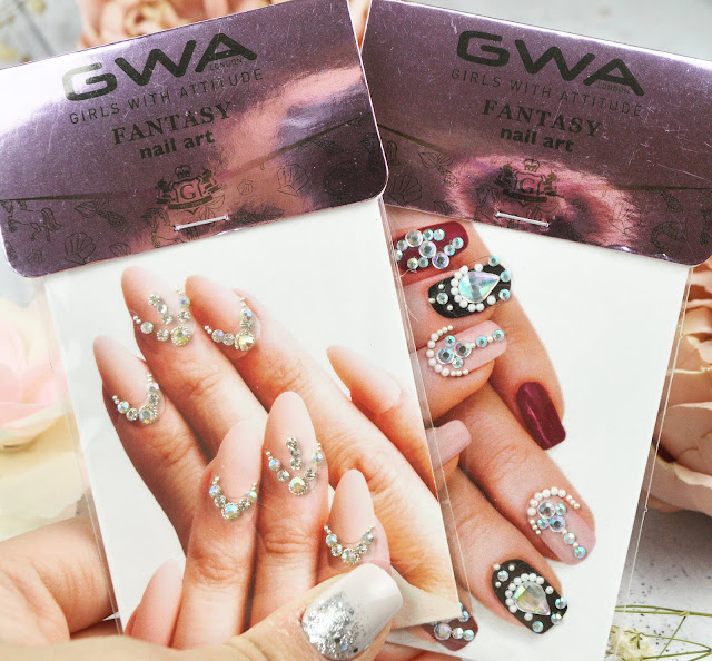 GWA London Fantasy Body, Face and Nail Jewels Gems Review, Lovelaughslipstick Blog