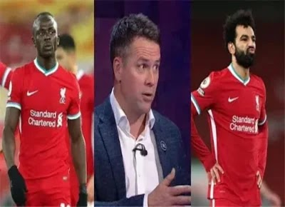 Owen: Mane refused to get a penalty because of Mohamed Salah