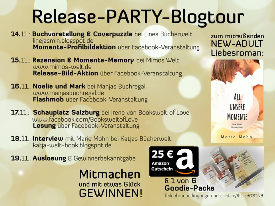 All unsere Momente Blogtour