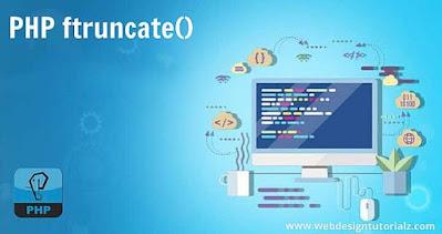 PHP ftruncate() Function