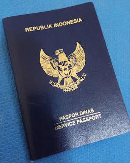 paspor dinas