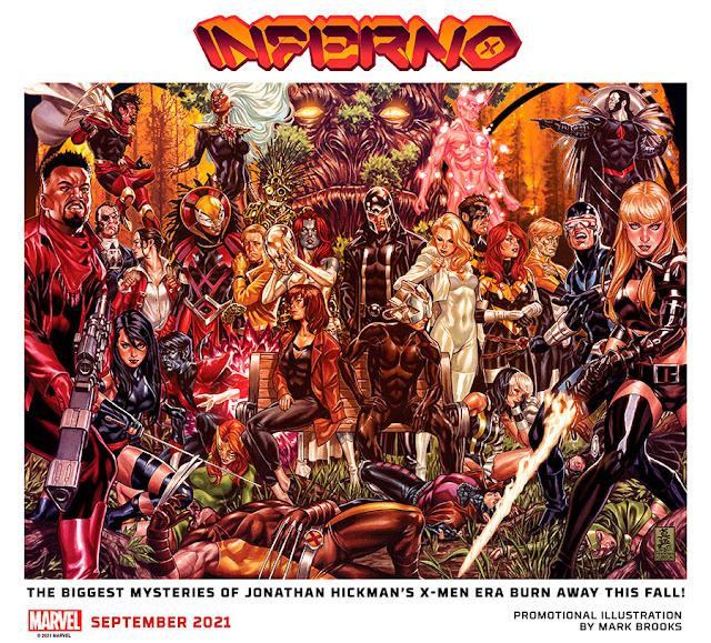 Marvel revela la serie de X-Men 'Inferno' de Jonathan Hickman.