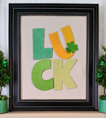 St. Patrick's Day LUCK art