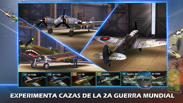 Visualización de War Wings