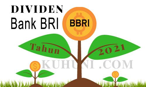 Dividen  Bank BRI 2021