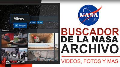 El Buscador de la NASA: Su Archivo con Imágenes, Vídeos y Audios
