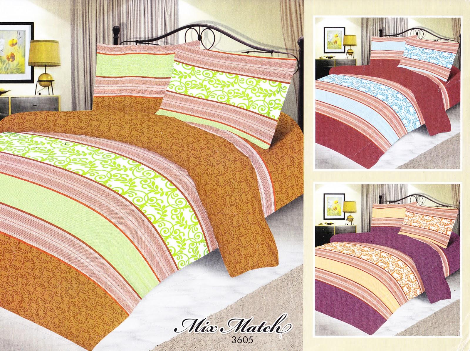 Bed cover my love anak - Sprei My Love Motif Anak