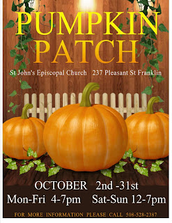 St John's Pumpkin Patch in final week