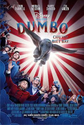 Xem Phim Dumbo: Chú Voi Biết Bay - Dumbo