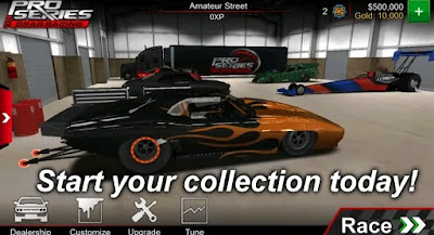 Pro Series Drag Racing MOD v2.20 Unlimited Money Diamonds Download Now