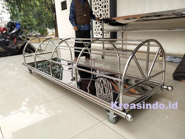 Jasa Pembuatan Keranda Mayat Stainless Plus Pemandian di Jabodetabek, Kualitas Premium