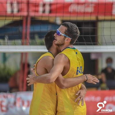 Atletas de Itapema vencem no Sul Americano sub-19 de Vôlei de Praia