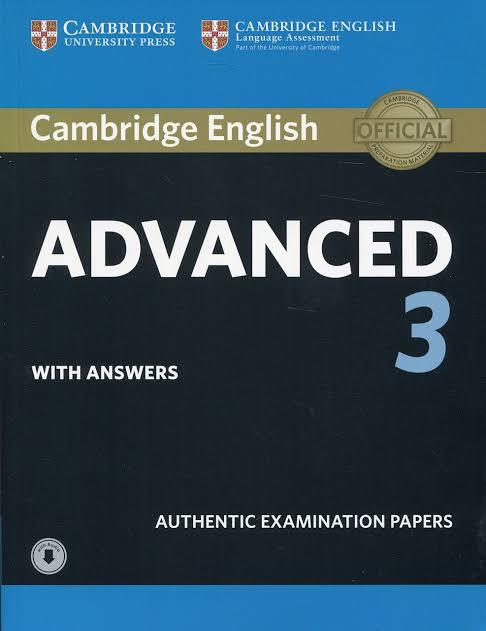 Cambridge English Advanced  3 + Audio