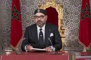 الملك محمد السادس أيده الله ونصره  يشيد بالأخوة المغربية الجزائرية